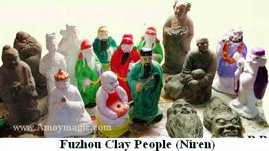 Fuzhou Clay People Figurines