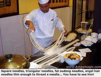 Magic Noodle Maker at Millennium