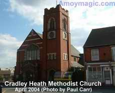 Cradley Heath Methodist Church April 2004 Photo by Paul Carr